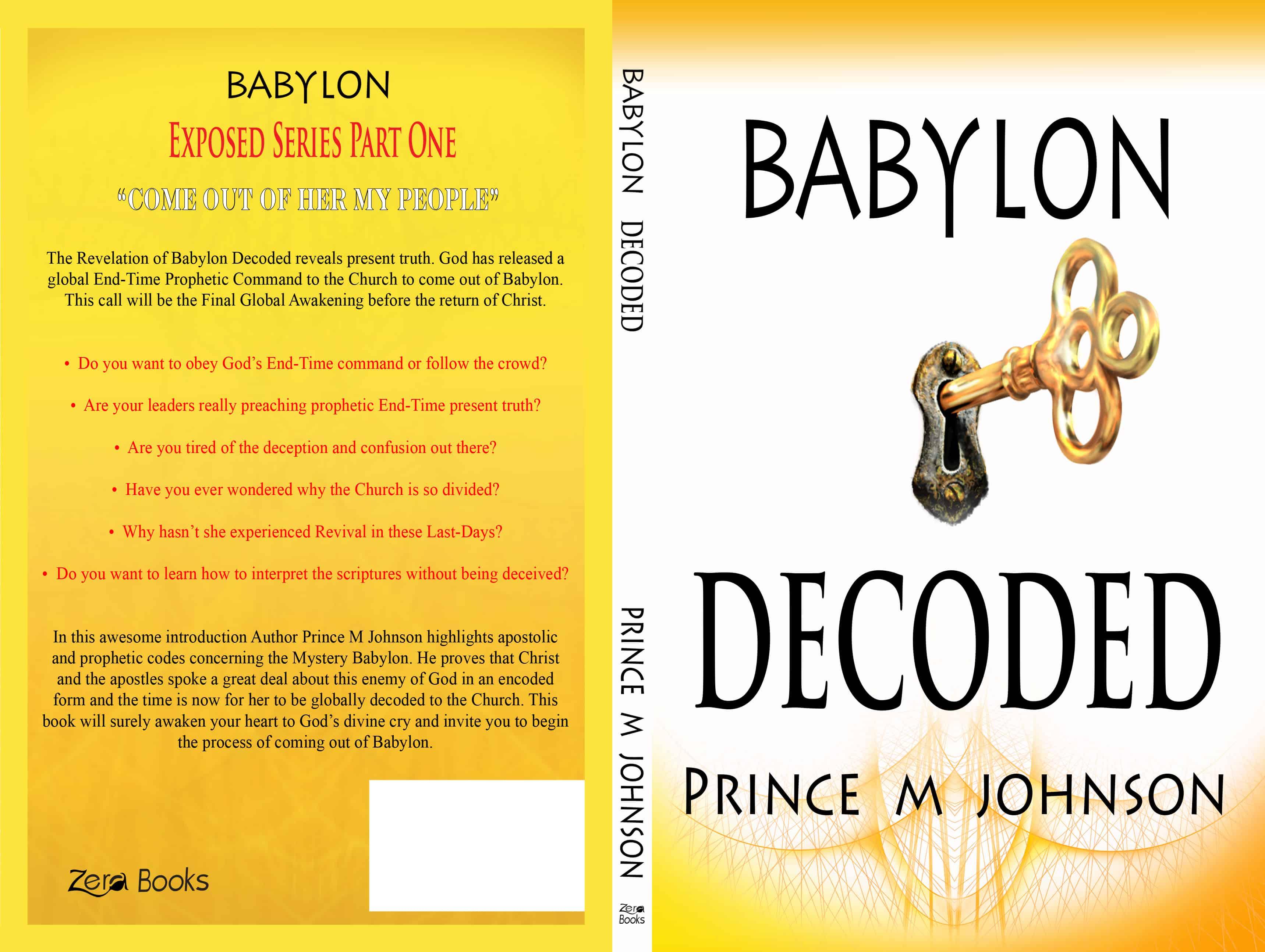 Babylon Exposed Series Babylon Decoded Book One